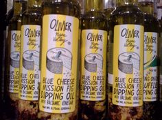 Blue Cheese and Mission Fig Dipping Oil | watsonkennedy.com