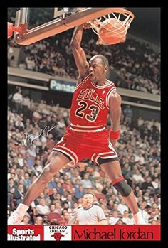A classic Sports Illustrated poster of legendary basketball player Michael Jordan doing what he does best! Check out the rest of our awesome selection of Michael Jordan posters! Need Poster Mounts. Indoor Basketball Hoop, Fsu Basketball, Xavier Basketball, Basketball Pictures, Basketball Players, Basketball Scoreboard, Nba Pictures, Basketball Legends, Basketball Uniforms