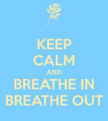 Keep calm and breathe in breathe out. http://fluidisometrics.com
