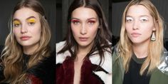 Every Makeup Look You Need to See From the Fall 2017 Shows – All About Hairstyles Makeup Trends 2017, Beauty Trends, Under Eye Makeup, Show Makeup, Berry Lipstick, White Eyeshadow, Black Pigment, Hot Hair Styles, Glowy Skin