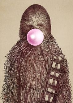 star wars geek dads and men will love this pop art print CHEWIE by Eric Fan - Star Wars Canvas - Latest and trending Star Wars Canvas. - star wars geek dads and men will love this pop art print CHEWIE by Eric Fan Chewbacca, Geeks, Hipster Vintage, Movies And Series, The Force Is Strong, Arte Pop, Design Graphique, Love Stars, Geek Art