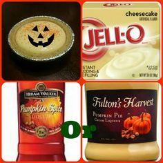 Pumpkin Cheesecake Pudding Shots
