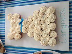 Cupcake wedding dress! Bridal shower