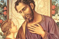 Deus me Conforta: Oração a São José: proteção ao lar e ao casamento