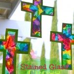 Stained Glass Cross – Easter Craft