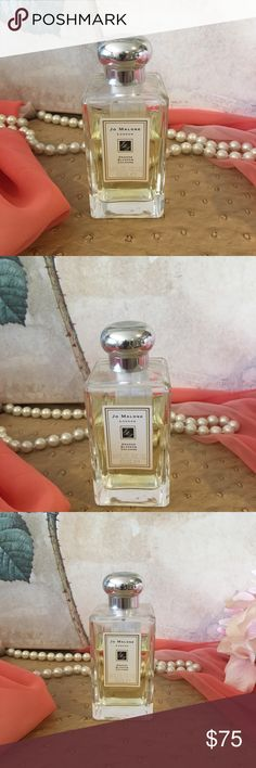 Jo Malone Orange Blossom Cologne 3.4 oz Some Used Jo Malone Orange Blossom Cologne 3.4 oz. bottle that is 75 percent full. Product not old, just found a new Jo Malone I'm in love with at the moment. Retail $130. Sorry no box. Purchased at Nordstrom. Jo Malone Makeup