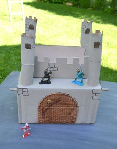 Recycled Castle Craft