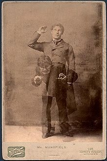 """Richard Mansfield - Actor - Pinterest is a great source of info.  But, I've noticed, it also has a great deal of rubbish, as well.  This image is making the rounds as a """"Victorian mental asylum patient"""".  It's no such thing.  Rather, it's a celebrated actor who portrayed """"Dr Jekyll and Mr Hyde"""".  But, he would be happy so many of you believe it.  :)"""