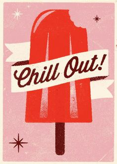 Chill Out! Inspiration...maybe do the popsicle from a Cricut cartridge?
