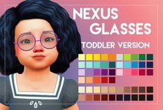 Simsworkshop: Nexus Glasses – toddlers version by Weepingsimmer • Sims 4 Downloads