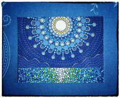 Full Moon Splendour Art Postcard by ElspethMcLean on Etsy, $2.50