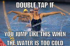 I jump like that every time