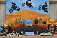 Dirt Bike Themed Birthday Party with Lots of Awesome Ideas via Kara's Party Ideas | Kara'sPartyIdeas.com #Motorcross #DirtBike #Party #Ideas #Supplies (10)