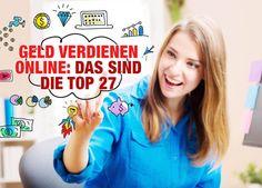 Geld verdienen online: Das sind die Top 27