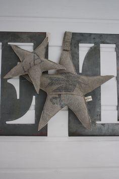 Image of Etoiles chanvre et toile poste.