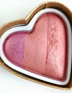 The Budget Beauty Blog: Makeup Revolution I Heart Makeup Blushing Hearts Swatches and Review