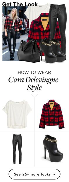 """""""Get The Look: Cara Delevingne"""" by martso on Polyvore"""