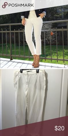 Zara basic cuffed pants Sz 10 Very giod condition.  Have unnoticeable little stain inside the cuff. Zara Pants Ankle & Cropped