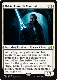 Odric, Lunarch Marshal - Creature - Cards