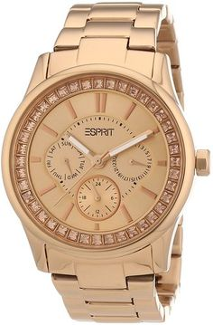 Esprit ES105442004 Ladies Starlite Rose Gold Watch