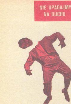 Collage Postcard by Wislawa Szymborska (to Jerzego Zagorskiego, 1979)