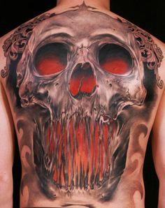 Tattoo Artist - Niki Norberg - Skull tattoo