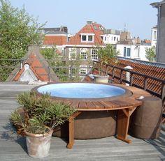 Softub na terase či balkóně #virivky #mobilnivirivky  http://www.softub-spa.cz/fotogalerie-virivky/album/350