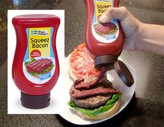 This website has a ton of interesting and unusual items and stuff to look at; like Squeeze Bacon, SPAM mints, and other gadgets.