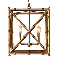 Scalamandre Maison Baldwin Gold Chandelier with Optional Shades Wellappointedhome.com $990  20x20x24""