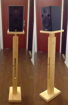 Adjustable stands for speakers by Adorluna on Etsy