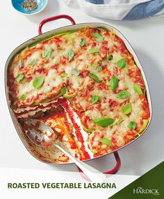 Roasted Vegetable Lasagna | You're going to love this Maximized and Meatless Monday dish! This recipe is gluten-free AND grain-free as it uses NO noodles. It is acceptable on the Maximized Living Advanced Nutrition Plan. Remember to always use organic cheese in any advanced plan dishes. The higher up the food chain, the more critical it is that you go natural and organic. There's tons more related to dairy, PLUS THIS RECIPE, now on my site. Check it out -- this is the bomb.