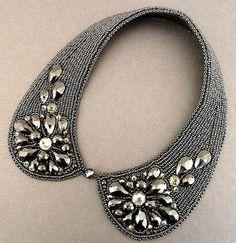 Handmade collar. Peter Pan collar by Elvina.