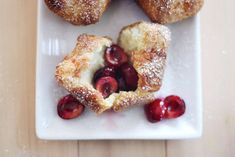 Cherry Popovers Recipe  http://myhoneysplace.com/even-more-the-best-only-sweets-updated-often/