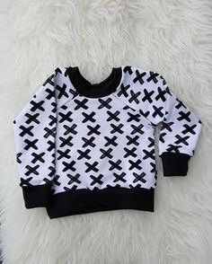 Little Button Clothing - Here at Little Button Clothing we understand children and there need to explore the world, that's why all our clothes are made for living, jumping and cart wheeling through life. Gender Neutral Baby Clothes, Baby Sweaters, Handmade Clothes, Monochrome, Kids Outfits, Sweatshirts, How To Wear, Fashion, Diy Clothing