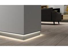LED aluminium Skirting board Novorodapie® Eclipse