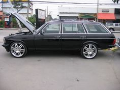 Lowered W123 picture thread? (not for purists) - Page 2 - Mercedes-Benz Forum