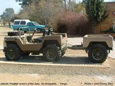 Photos and pictures of Army and Military Vehicles and Equipment in South and Southern Africa - Army Vehicle Photos Page 3 - Jakkals Army Vehicles, Paratrooper, Military Weapons, Custom Trucks, Rifles, Bats, Soldiers, Jeep, Armour