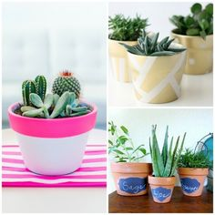 Simple Yet Wonderful Ideas for Your Interior Clay Pot Crafts, Making Life Easier, Ideas Geniales, Clay Pots, Diy Organization, Living Spaces, Planter Pots, Projects To Try, Sweet Home