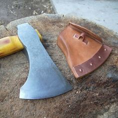 Viking woodworking axe forged by Orien of OldSchoolTools.