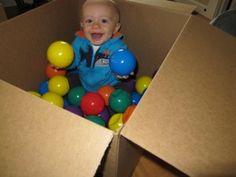 Sensory Activity – Infant Ball Pit
