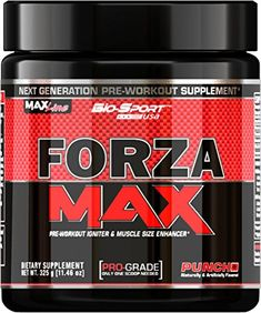 BioSport USA Forza Max Next Generation Pre Workout  Muscle Size Enhancer Fruit Punch 325 Gram ** Find out more about the great product at the image link.