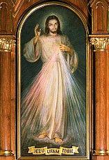 Nabożeństwo do Miłosierdzia Bożego – Obraz - Jezu ufam Tobie
