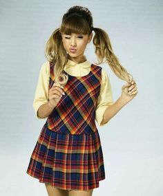 @arianagrande63 i love this photoshoot for hairspray live so much ♡