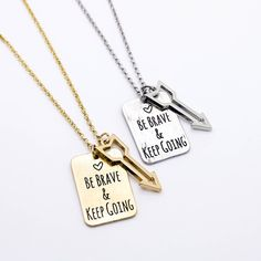 Be brave arrow necklace – Imsmistyle.