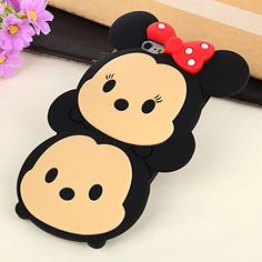 iPhone 6 Plus Case, 3D Cute Cartoon Mouse Soft Silicone Case Cover for Iphone 6 Plus 5.5 inch