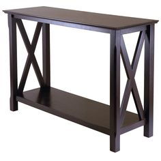 Winsome Wood Xola Console Table at Brookstone—Buy Now!