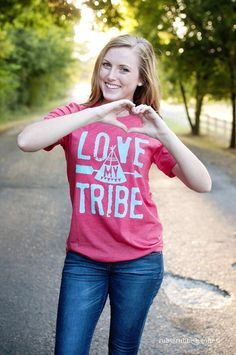 Hey, I found this really awesome Etsy listing at https://www.etsy.com/listing/243701038/love-my-tribe-tee
