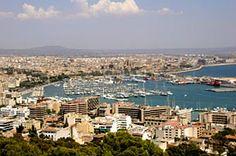 Palma de Mallorca harbour, Majorca, Balearic Islands, Spain