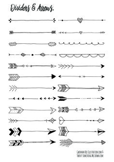Different Arrow Ideas