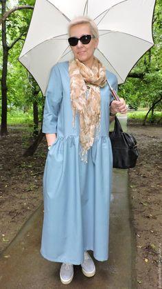 8cd3006931f Летнее платье из хлопка - купить или заказать в интернет-магазине на  Ярмарке Мастеров